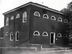 Anatomical Theatre, post 1886