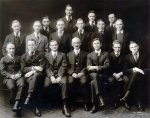Dissecting club, 1906-1907.