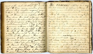 Student Notebook of Jethro Meriwether Hurt, 1839-1840