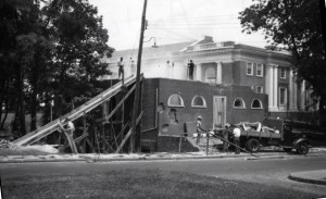 Anatomical Theatre demolition by Atcheson Laughlin Hench, June 16, 1939.