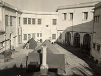 Italian Consulate courtyard tents