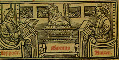 Manuscript Illustration from an edition of the works of Galen