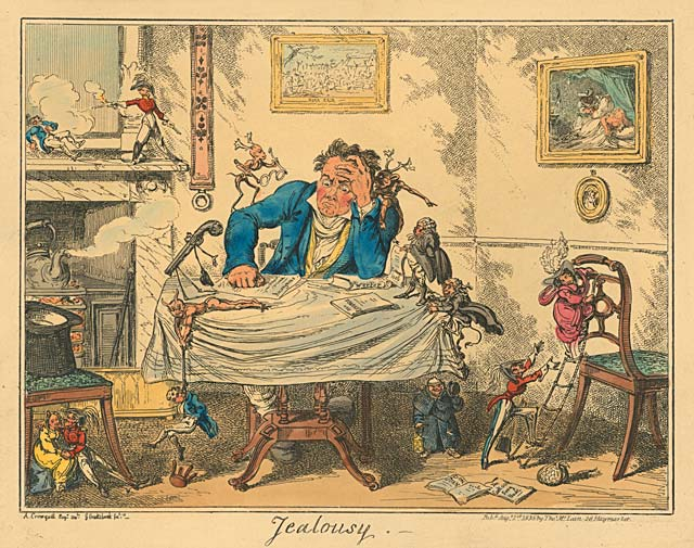 English Caricature Love Amp Doomed Relationships Very