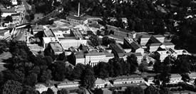 Aerial Photo of the Hospital Complex
