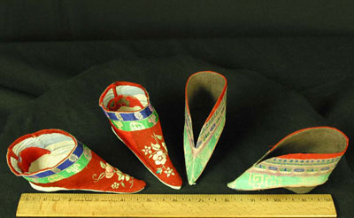 Traditional Lotus Shoes