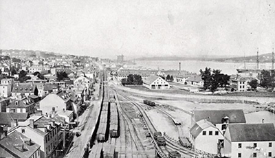Halifax harbor before the explosion