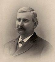 This image of Dr. William Beverly Towles shows him several years before he compiled his 1885 Case Book. He was a Professor of Anatomy at the University of Virginia School of Medicine from 1885 until his death in 1893.{4}