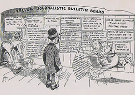 disadvantage of yellow journalism Teacher's guide primary source set ment referred to as yellow journalism, was a cause of the war today, however, historians find less evidence for that claim causes, the role of journalism before and during the war.