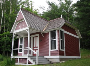 """""""Little Red,"""" Dr. Trudeau's cottage in the Adirondack Mountains, 2008"""