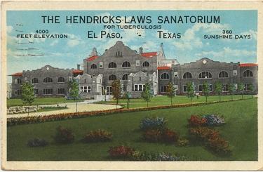 The Hendrick-Laws Sanatorium, El Paso, TX, c. 1929