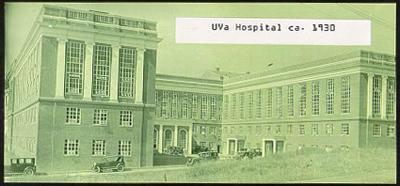 UVa Hospital ca. 1930