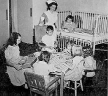 Rucker Convalescent Home - Caring for Children