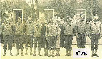 The 8th Evacuation Hospital Staff