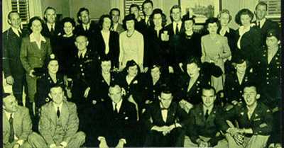 8th Evacuation Hospital reunion shortly after the War
