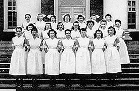 Nursing School Class of February, 1948
