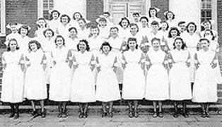Nursing School Class of August, 1948
