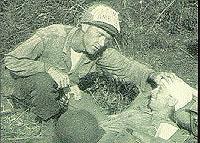 War maneuvers at Fort Sam Houston