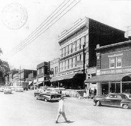 The Corner in 1958