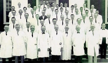 The Internal Medicine Department, ca. 1960