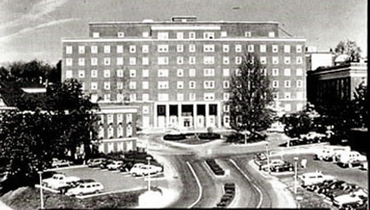 Medical Center Hospital, dedicated in 1960, provides 682 beds and bassinets