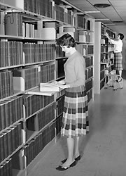 Doing research in the Medical Library