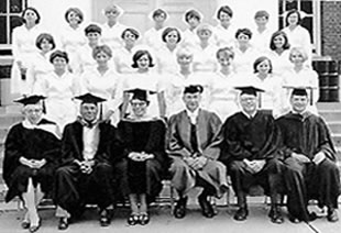 School of Nursing Graduation, 1967
