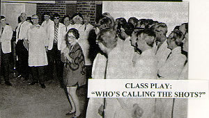 Medical School Class Play: who's calling the shots