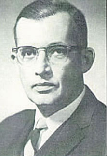 Dr. Edward Hook, Chairman of the Department of Internal Medicine
