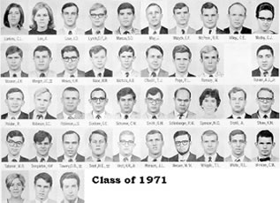 Medical School Class of 1971, page 2