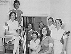Officers of the Nursing School Class of 1971