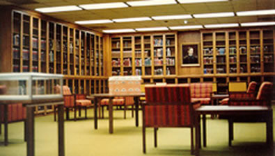 Wilhelm Moll Rare Book Room