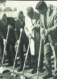 Groundbreaking for the new replacement hospital