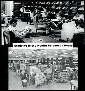 Studying in the Health Sciences Library