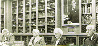 a photo of  a lecture in the History of the Health Sciences Library Lecture Series