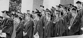 Nursing School Graduation, 1991