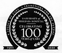 UVa Hospital Centennial Seal