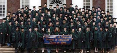 The Medical School Class of 2003