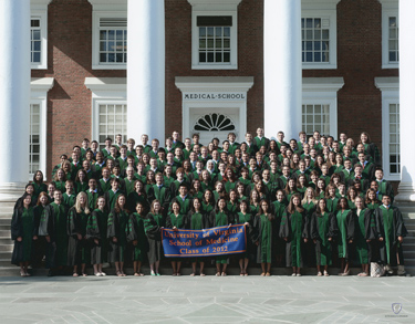 School of Medicine Class of 2012. Photo by Jim Carpenter.