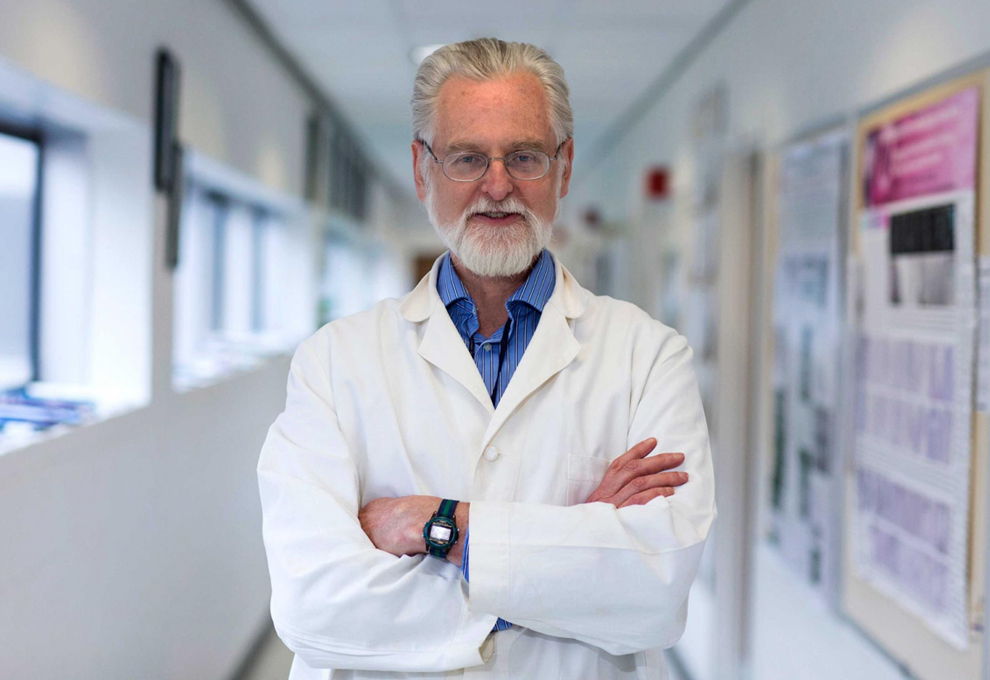Dr. John C. Herr, a champion of translational research, dies. Image by Dan Addison, University Communications in UVA Today.