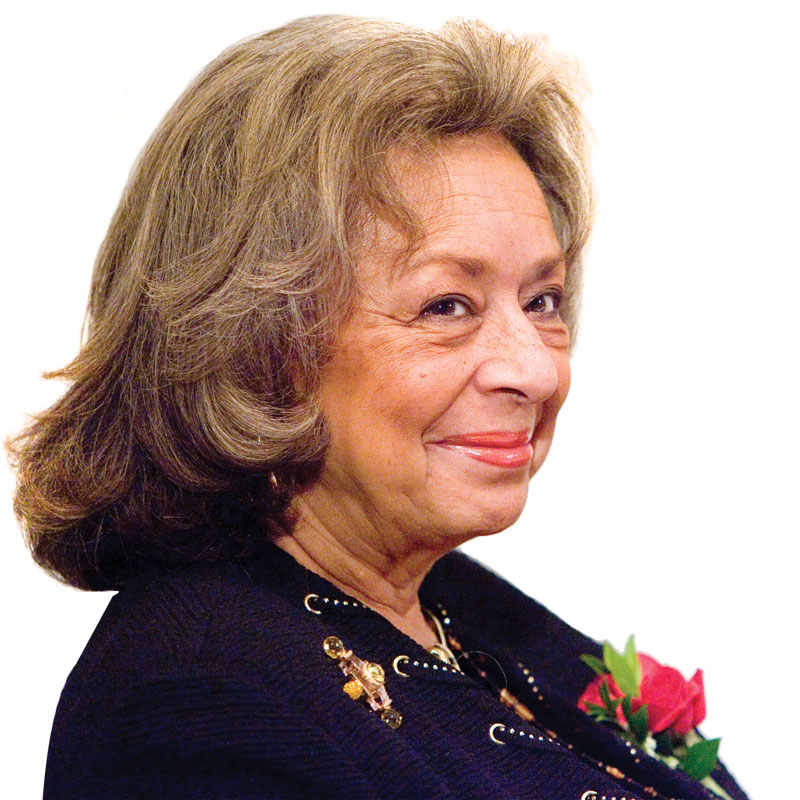 Jordan Hall is renamed for alumna Dr. Vivian Pinn, class of 1967. Her many accomplishments include being the first director of the National Institute of Health's Office of Research on Women's Health. Image from Virginia Magazine.