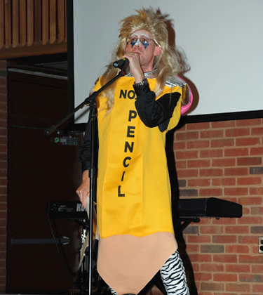 Med School Talent Show. Photo courtesy of the U.Va. Medical Alumni Association.