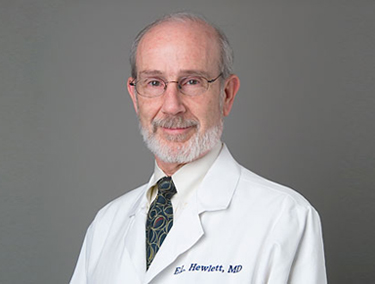 Dr. Erik L. Hewlett, Professor of Medicine and Microbiology, Immunology, and Cancer Biology