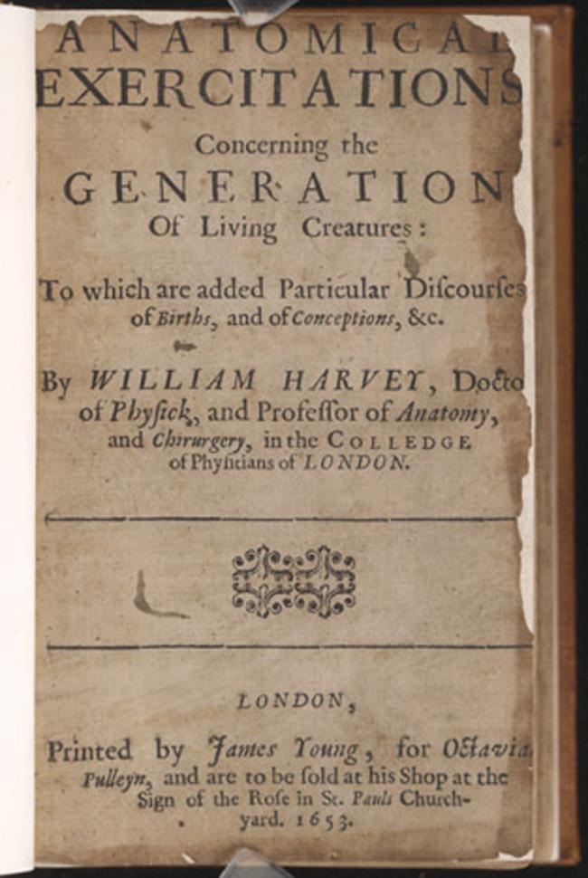 William Harvey (1578-1657) | Vaulted Treasures: Historical Medical ...