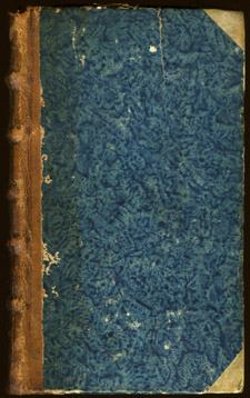 Fuchs, …Institutionum medicinae libri quinque…, front cover with spine