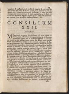 Malpighi, Consultationum medicinalium…, p 47