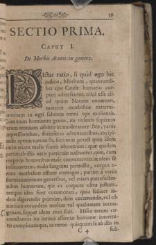 Sydenham, Observationes medicae…, p 39
