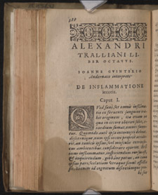 Alexander of Tralles, …Medici libri duodecim, p 388
