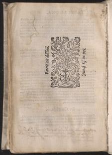 Bernard de Gordon, Omnium aegritudinum a vertice ad calcem, opus praeclariss, qqiii