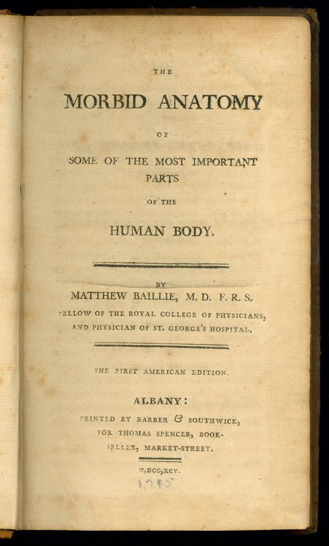 Matthew Baillie (1761-1823)   Vaulted Treasures: Historical Medical ...