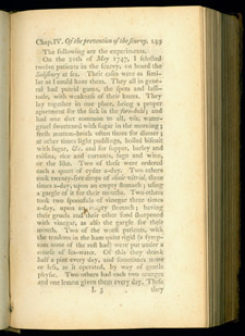 Lind, A Treatise on the Scurvy, p 149